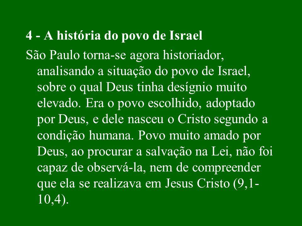 4 - A história do povo de Israel