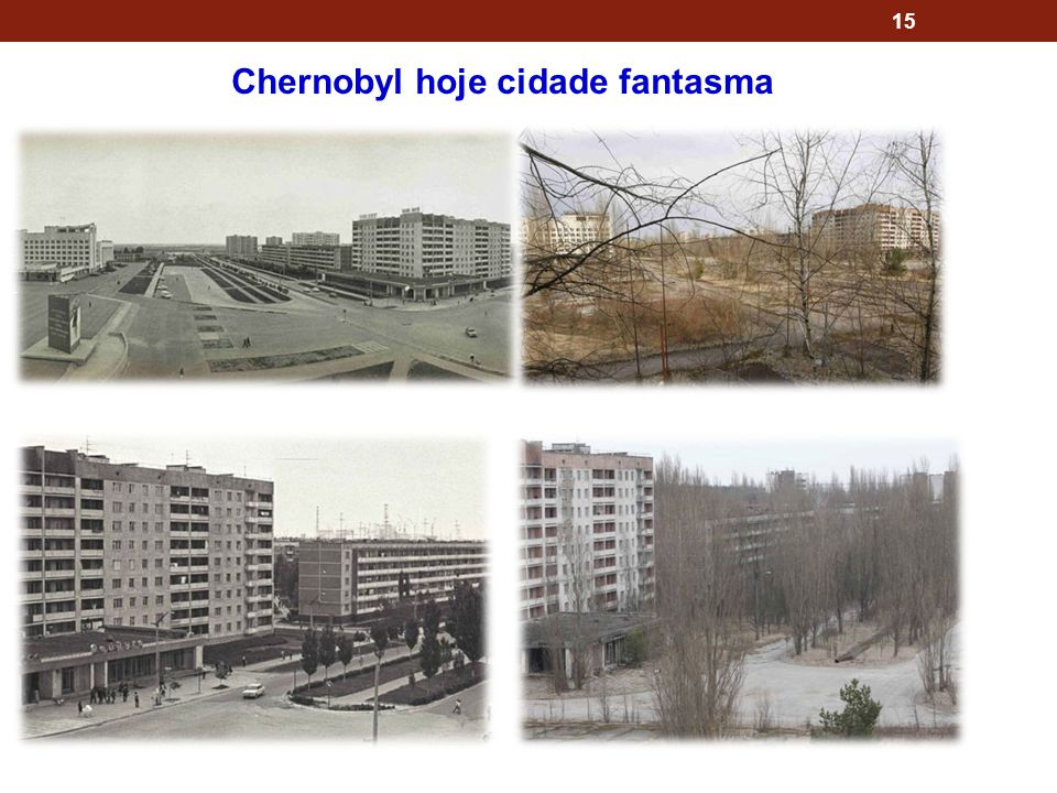 Chernobyl hoje cidade fantasma
