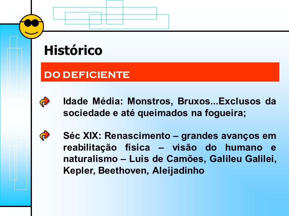 Histórico DO DEFICIENTE