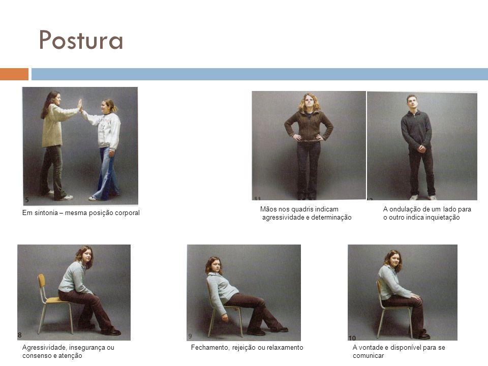 Postura Mãos nos quadris indicam agressividade e determinação