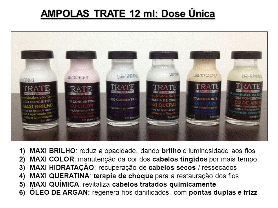 AMPOLAS TRATE 12 ml: Dose Única