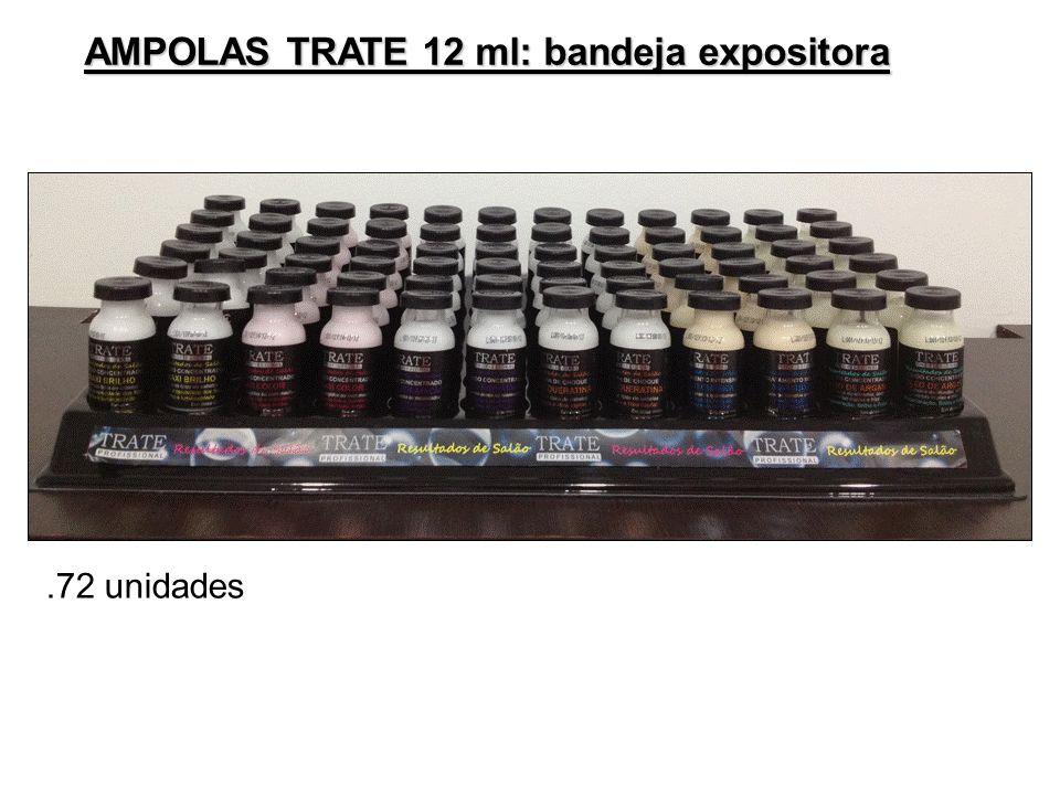 AMPOLAS TRATE 12 ml: bandeja expositora