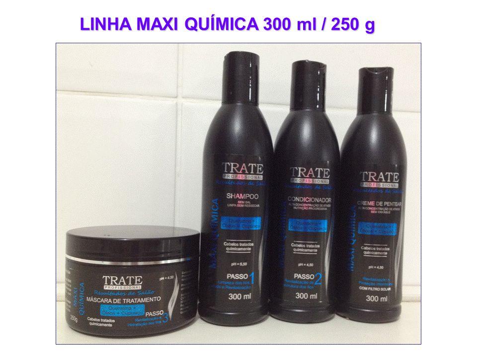 LINHA MAXI QUÍMICA 300 ml / 250 g