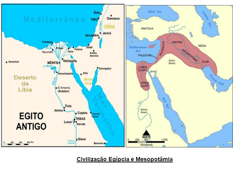 Civilização Egípcia e Mesopotâmia
