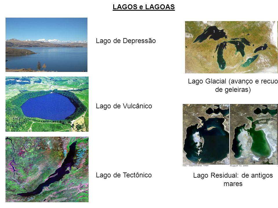 Lago Glacial (avanço e recuo de geleiras)