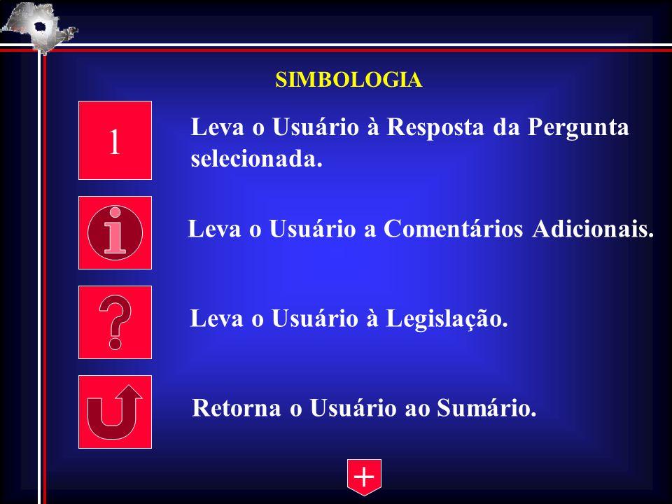 1 + Leva o Usuário à Resposta da Pergunta selecionada.