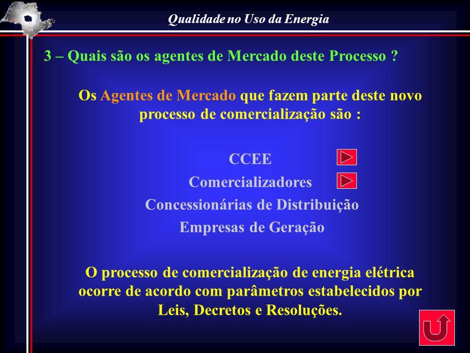 Qualidade no Uso da Energia Concessionárias de Distribuição