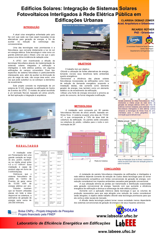Edifícios Solares: Integração de Sistemas Solares Fotovoltaicos Interligados à Rede Elétrica Pública em Edificações Urbanas