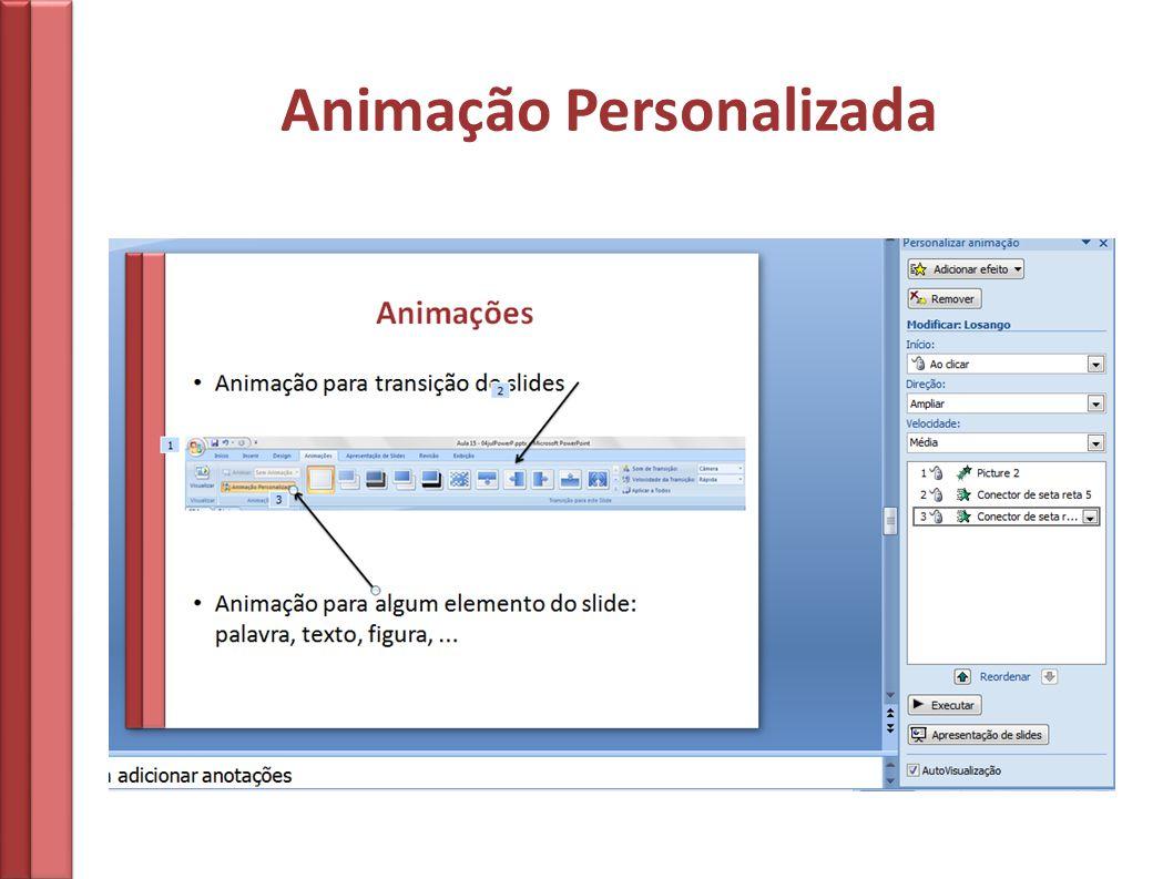 Animação Personalizada