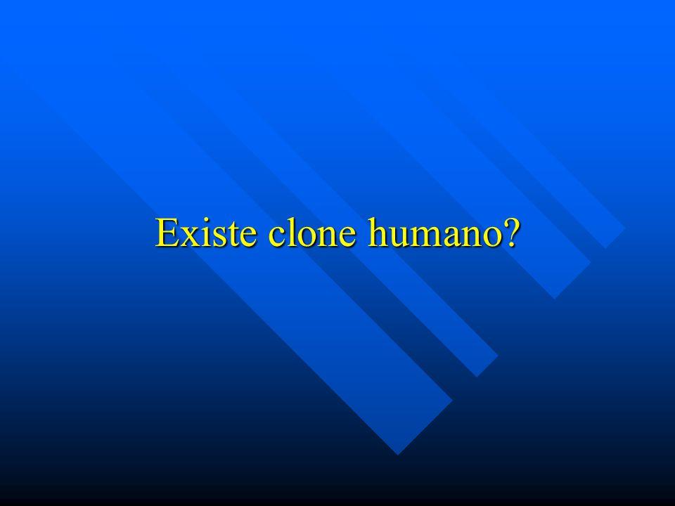 Existe clone humano