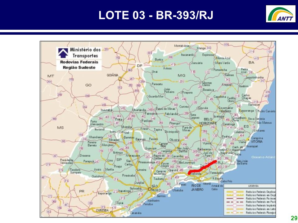 LOTE 03 - BR-393/RJ