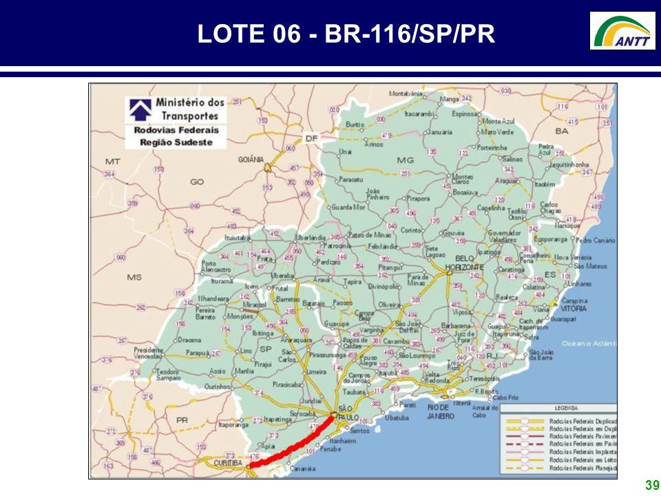 LOTE 06 - BR-116/SP/PR