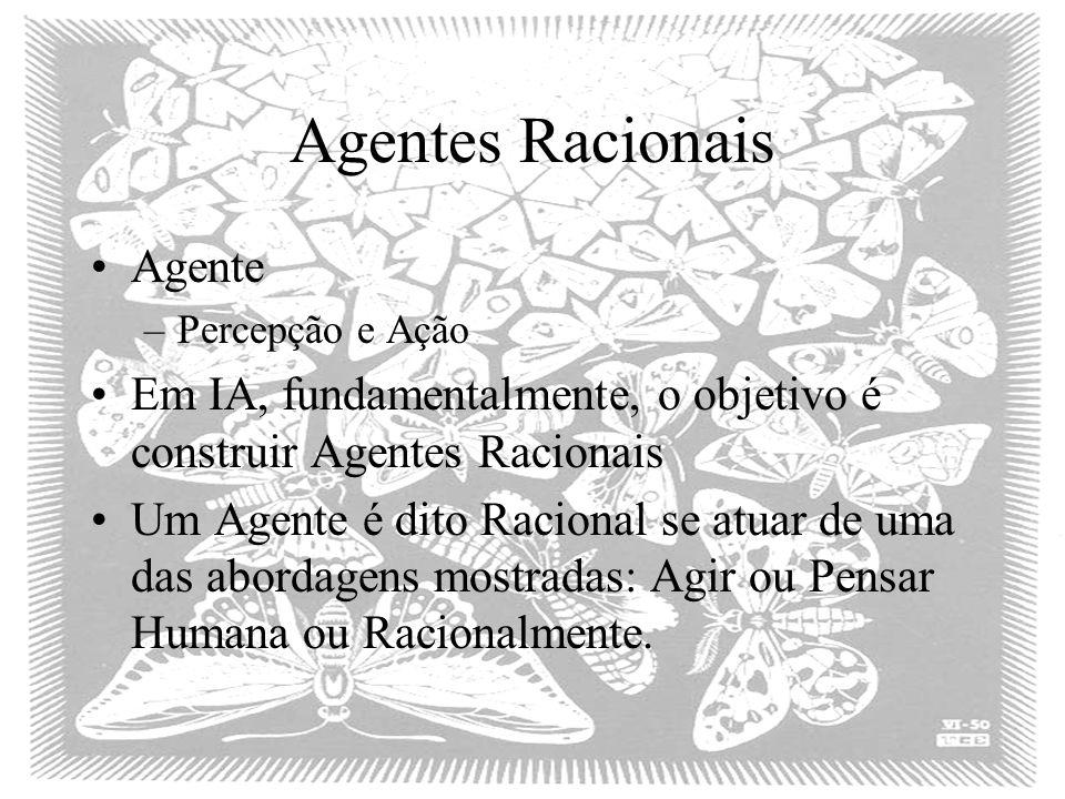 Agentes Racionais Agente