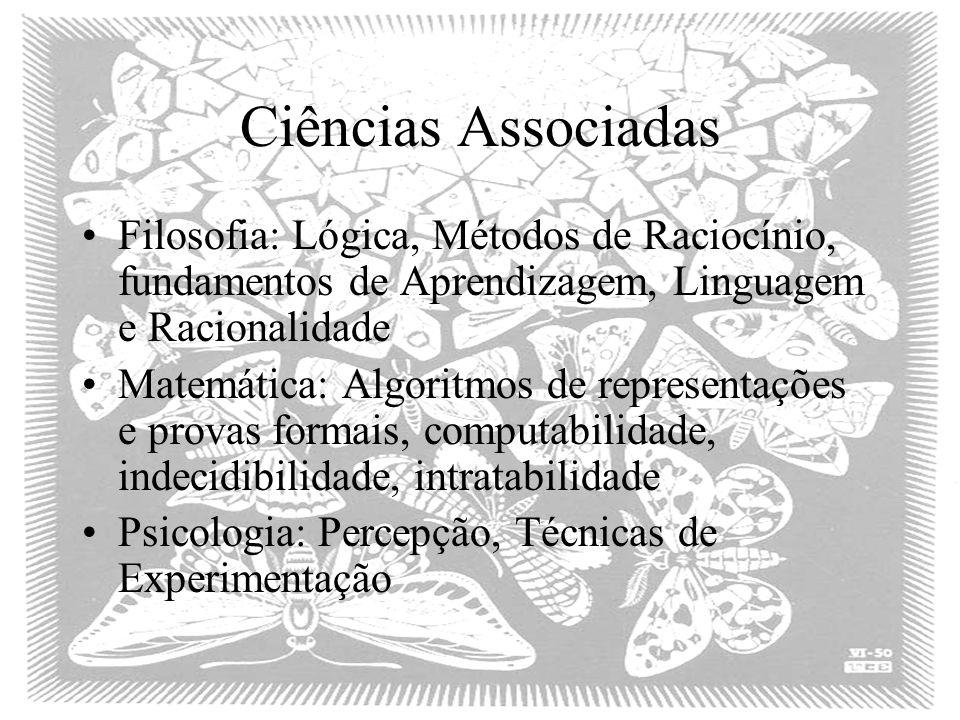 Ciências Associadas Filosofia: Lógica, Métodos de Raciocínio, fundamentos de Aprendizagem, Linguagem e Racionalidade.
