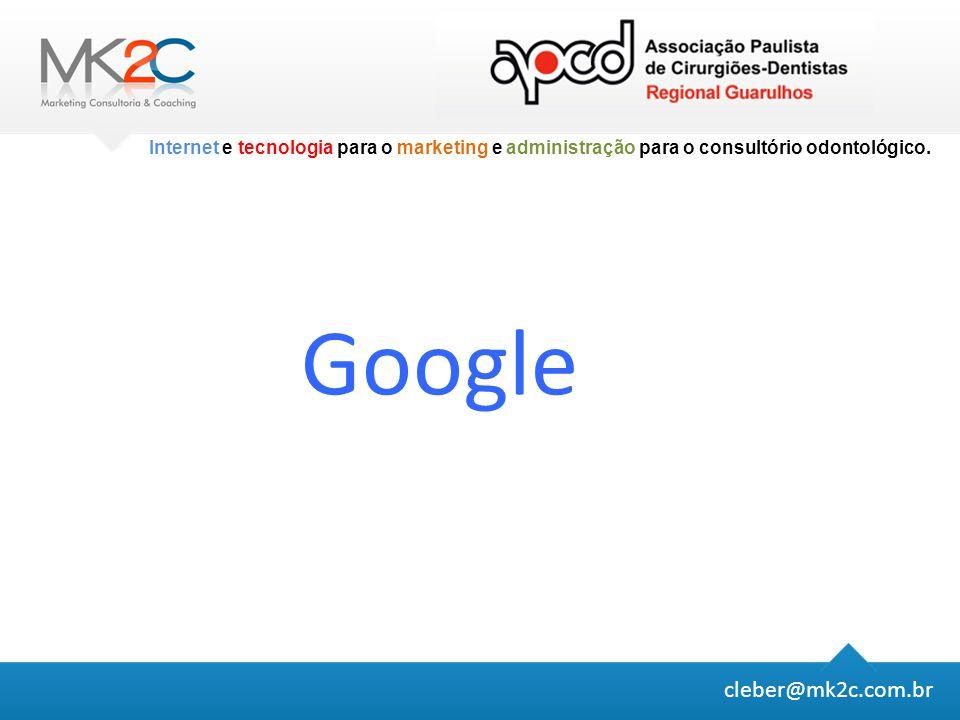 Google cleber@mk2c.com.br
