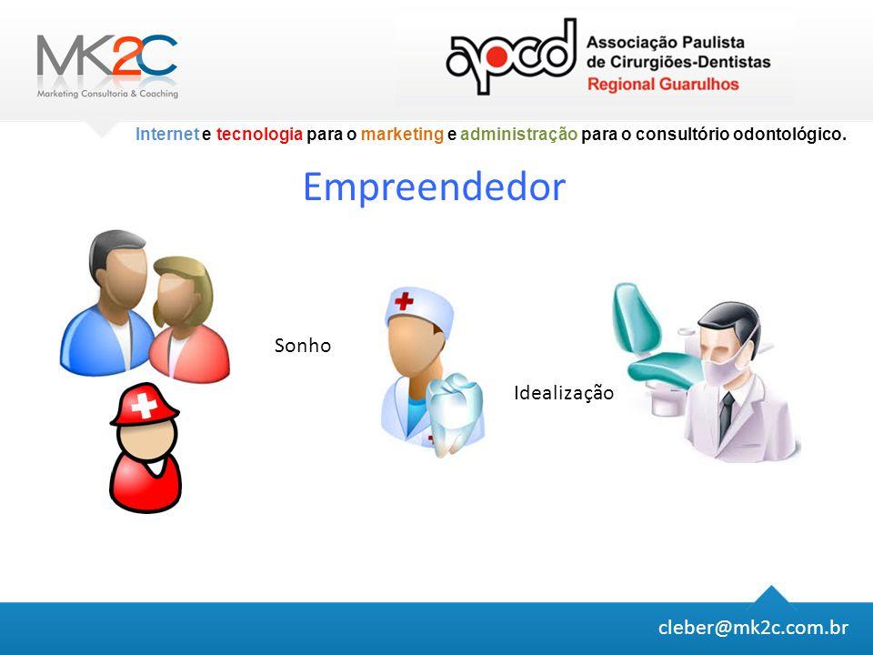 Empreendedor Sonho Idealização cleber@mk2c.com.br