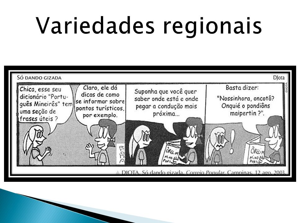 Variedades regionais
