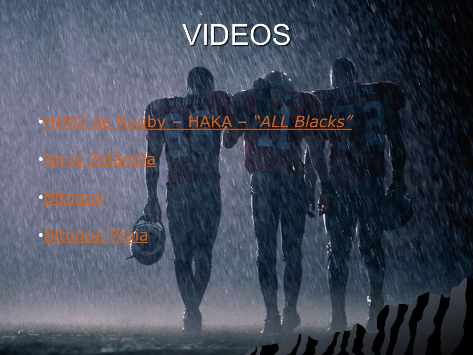 VIDEOS HINO de Rugby – HAKA – ALL Blacks Nova Zelândia Bitoque