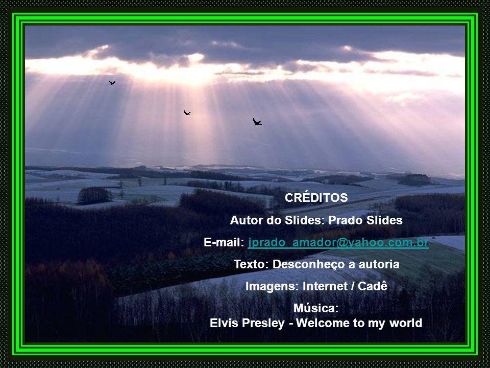 Autor do Slides: Prado Slides E-mail: jprado_amador@yahoo.com.br