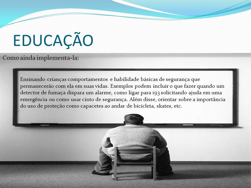 EDUCAÇÃO Como ainda implementa-la: