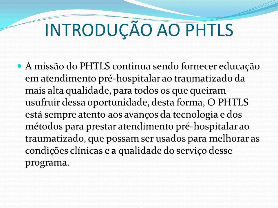 INTRODUÇÃO AO PHTLS