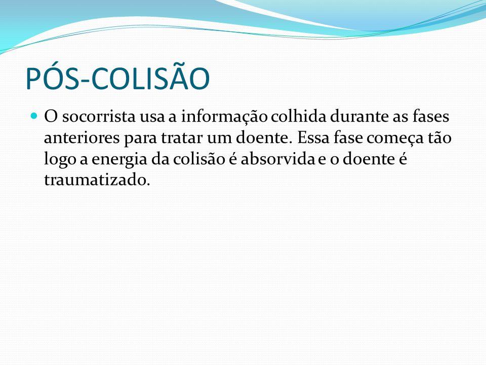 PÓS-COLISÃO