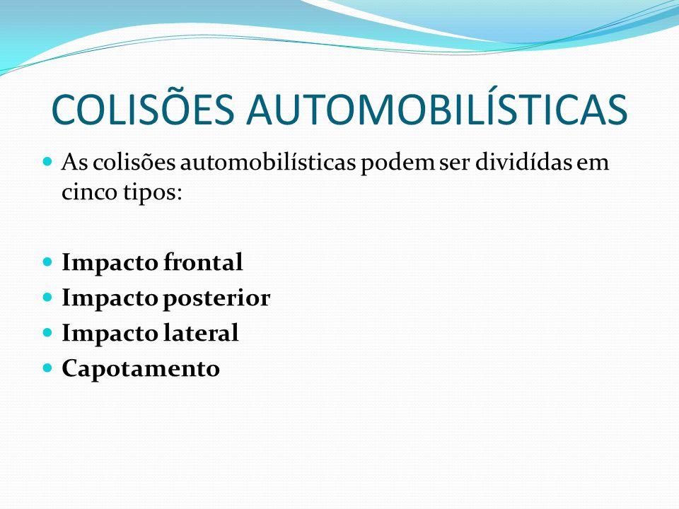 COLISÕES AUTOMOBILÍSTICAS