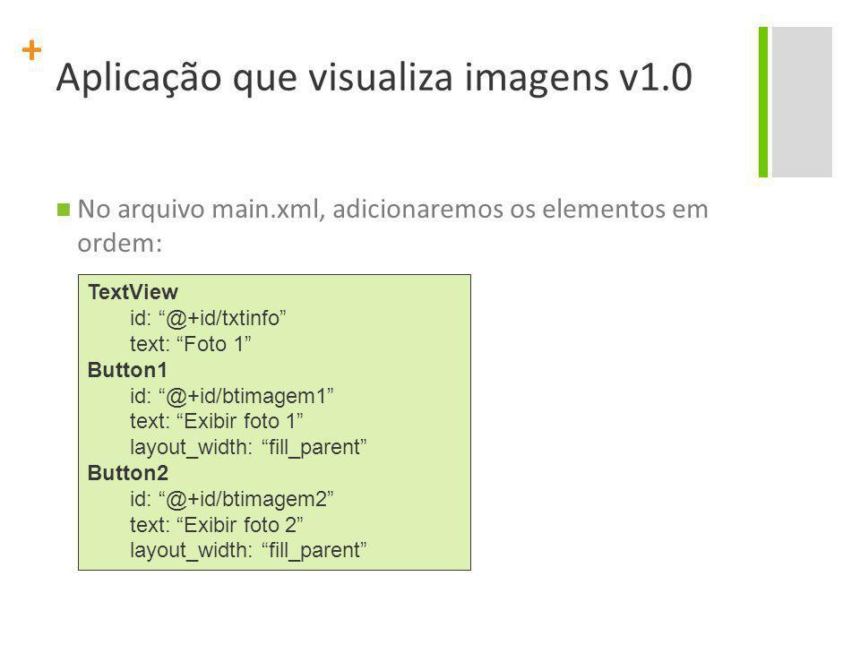 Aplicação que visualiza imagens v1.0