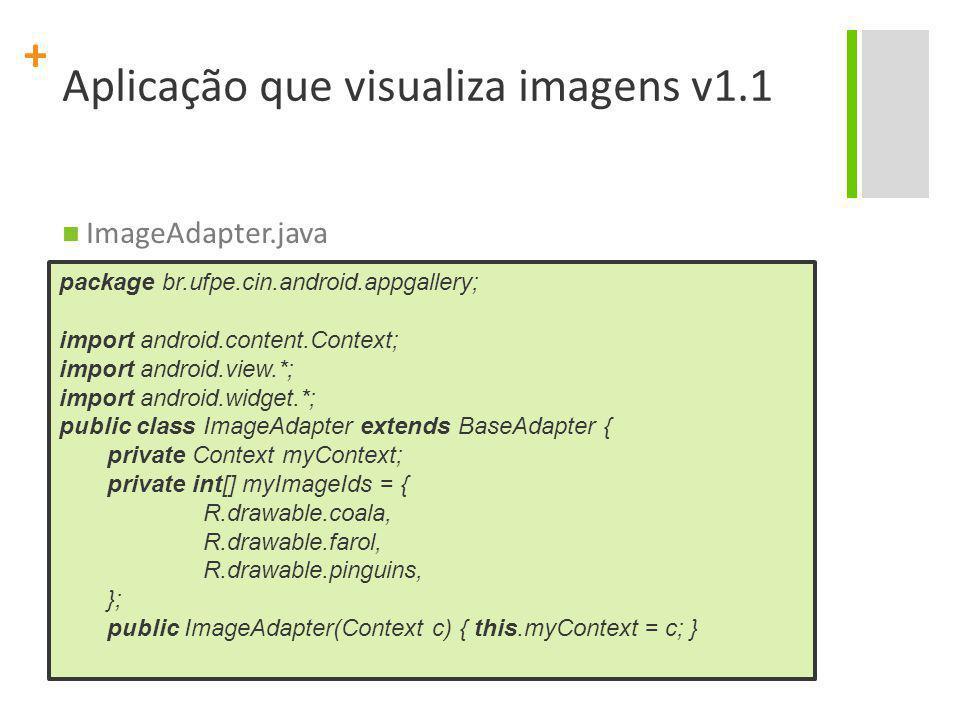 Aplicação que visualiza imagens v1.1