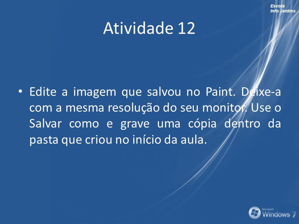 Atividade 12
