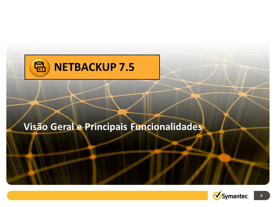 NETBACKUP 7.5 Acelerador NetBackup