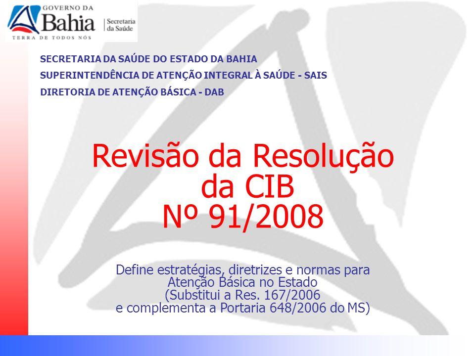 Revisão da Resolução da CIB