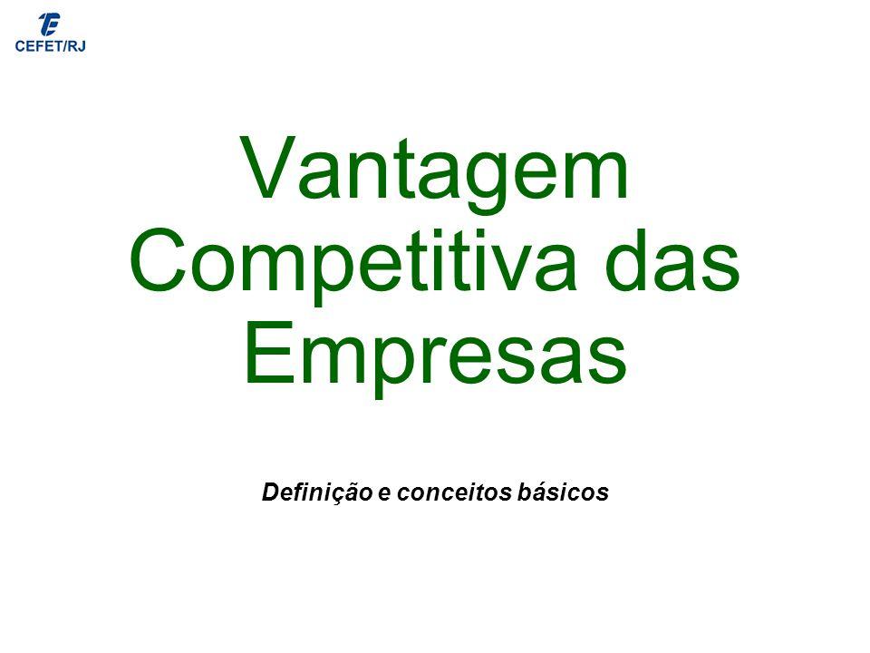 Vantagem Competitiva das Empresas
