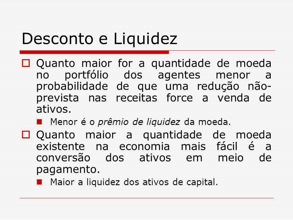 Desconto e Liquidez