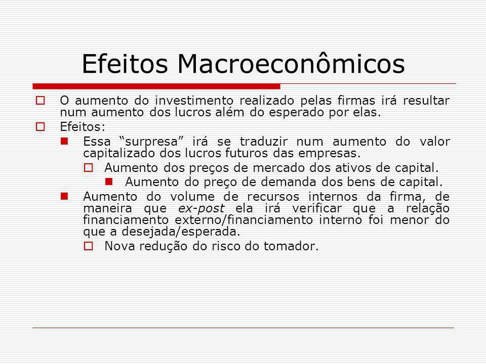 Efeitos Macroeconômicos