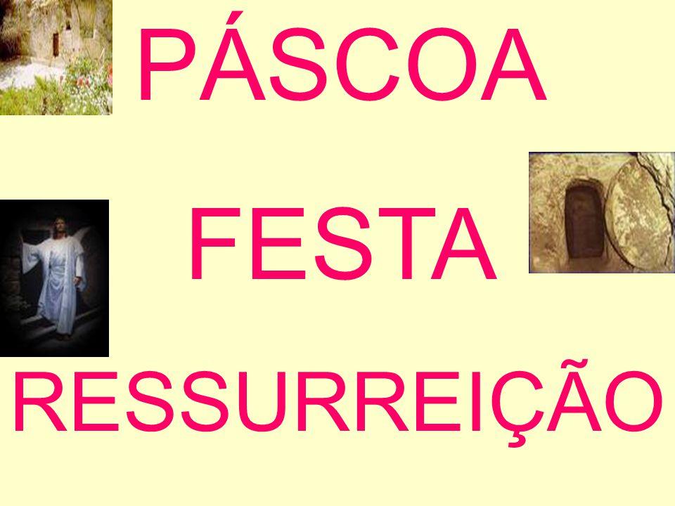 PÁSCOA FESTA RESSURREIÇÃO