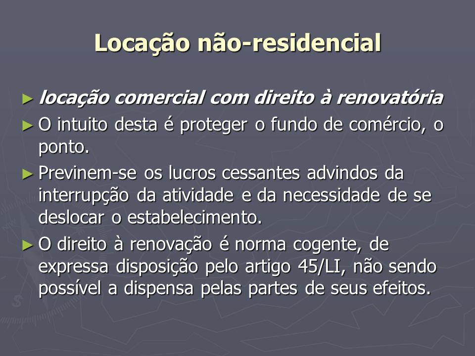 Locação não-residencial