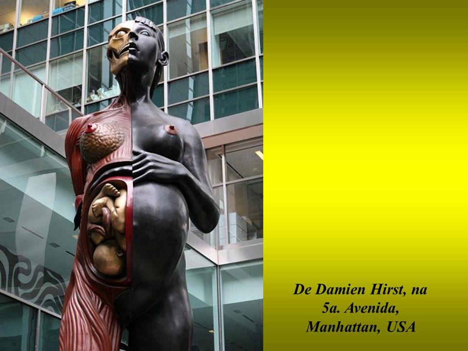 De Damien Hirst, na 5a. Avenida, Manhattan, USA