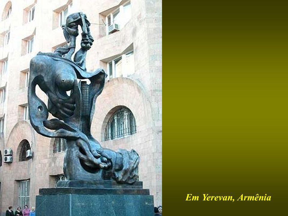 Em Yerevan, Armênia