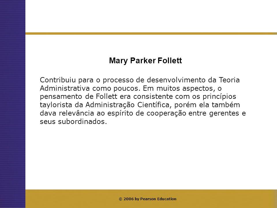 Contribuição de Mary Parker Follett — resumo