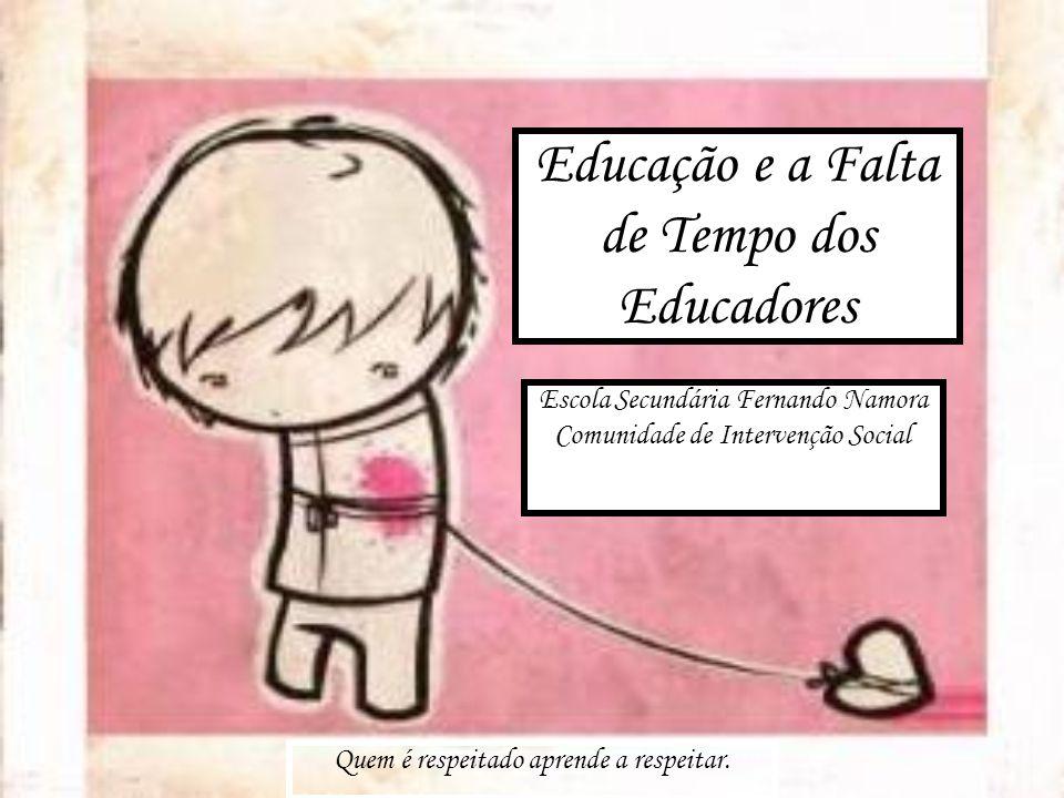 Educação e a Falta de Tempo dos Educadores