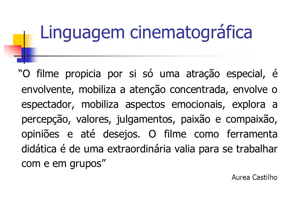 Linguagem cinematográfica