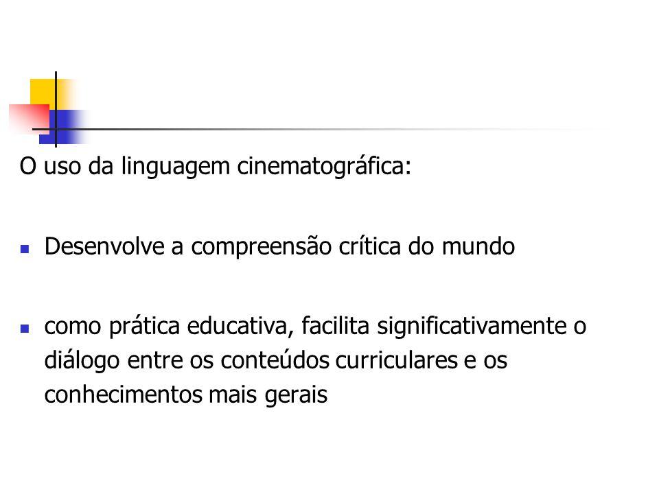 O uso da linguagem cinematográfica: