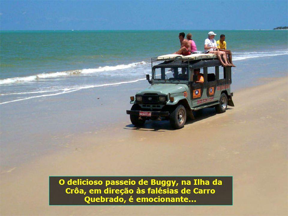 P0008081 - BARRA DE SANTO ANTONIO - ILHA DA CROA - FALÉSIAS DE CARRO QUEBRADO - JEEP