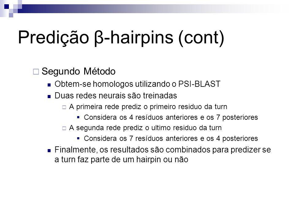 Predição β-hairpins (cont)