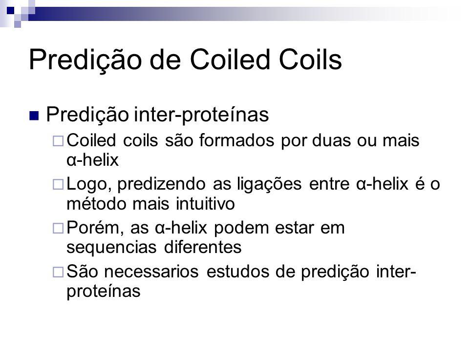 Predição de Coiled Coils