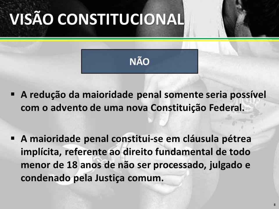 VISÃO CONSTITUCIONAL NÃO
