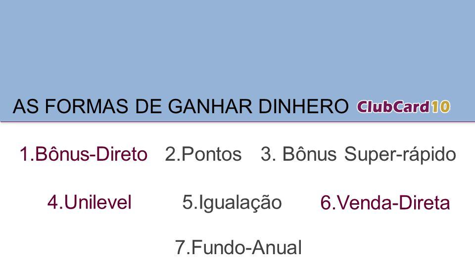 AS FORMAS DE GANHAR DINHERO
