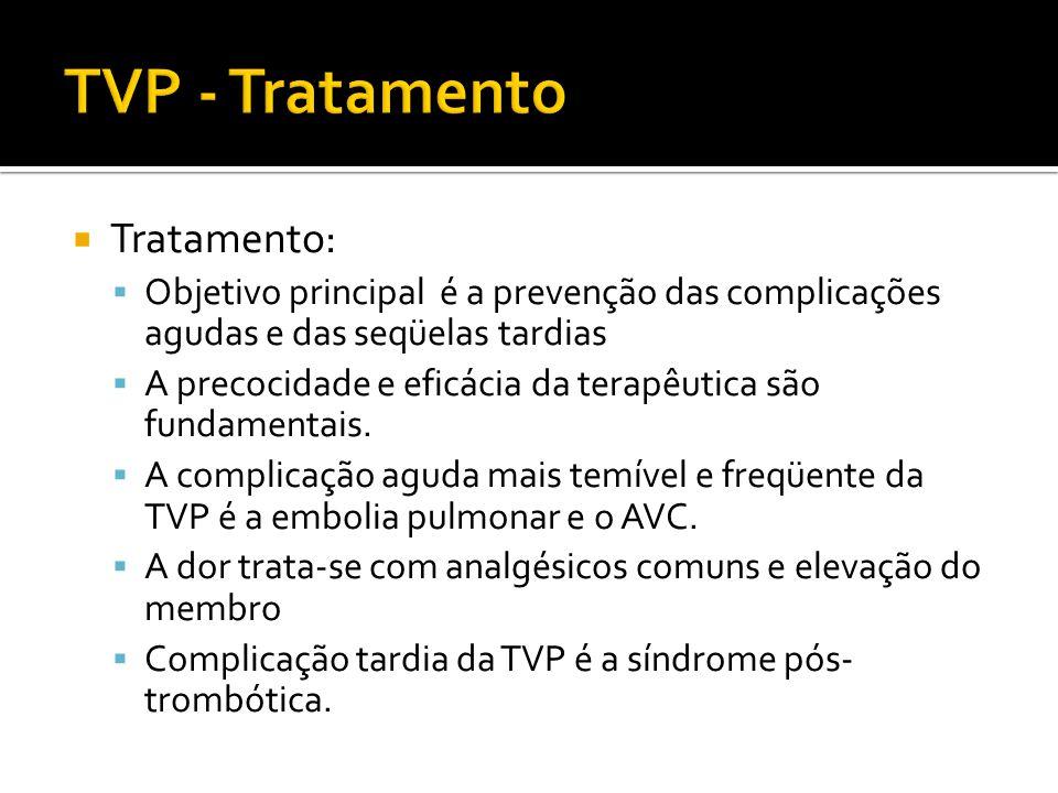 TVP - Tratamento Tratamento: