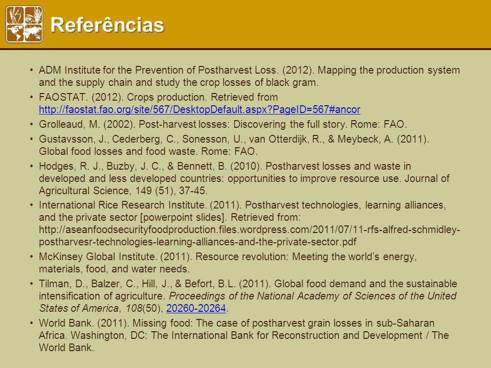 Referências Resources